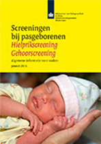 Folder Hielprik Gehoorscreening